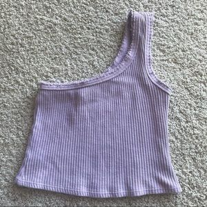 LAST CHANCE Urban Outfitters One Shoulder Tank Top
